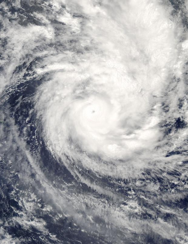 Ciclón tropical Percy (20P) al este de Pago Pago, Océano Pacífico