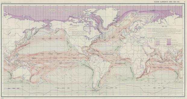 Corrientes Océanicas y el Hielo Marino 1943