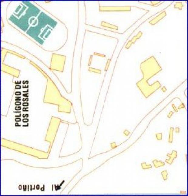 Coruña City Map, Spain