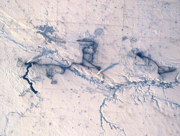 Cuenca minera de carbon de Estevan y plantas de energía, Saskatchewan
