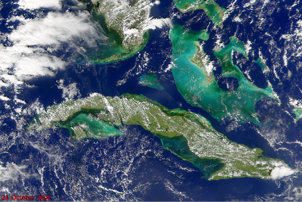 Efectos posteriores huracán Michelle