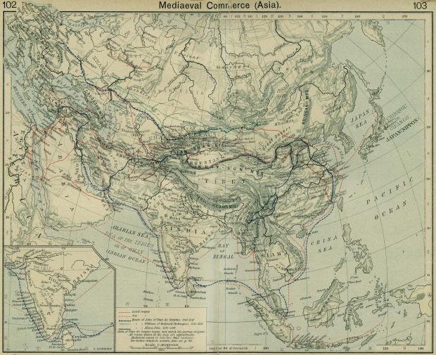 El Comercio en Asia Medieval