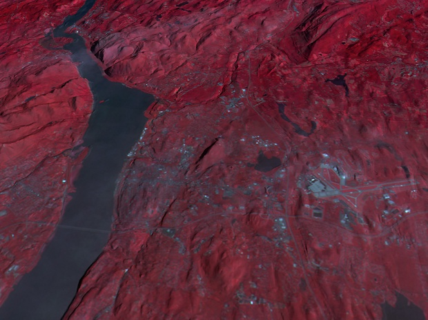 Entrada a las tierras altas del Hudson