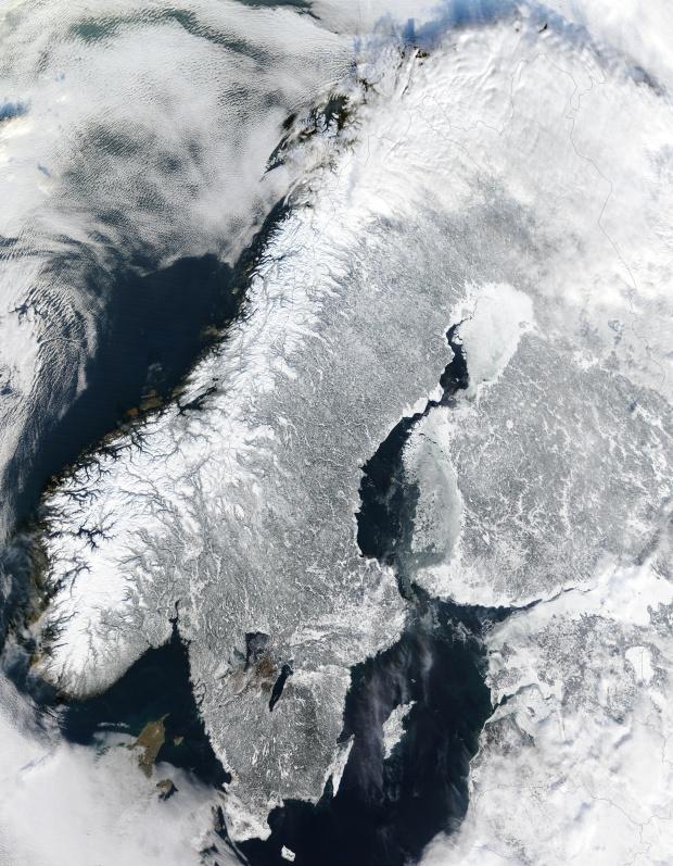 Escandinavia en invierno 2003