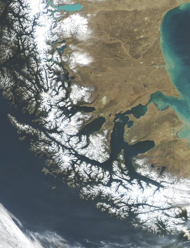Estrecho de Magellan, Chile y Argentina, Sudamerica