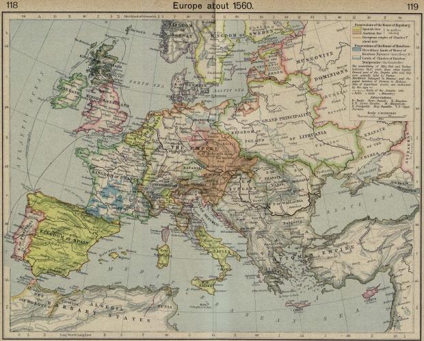 Europa en 1560
