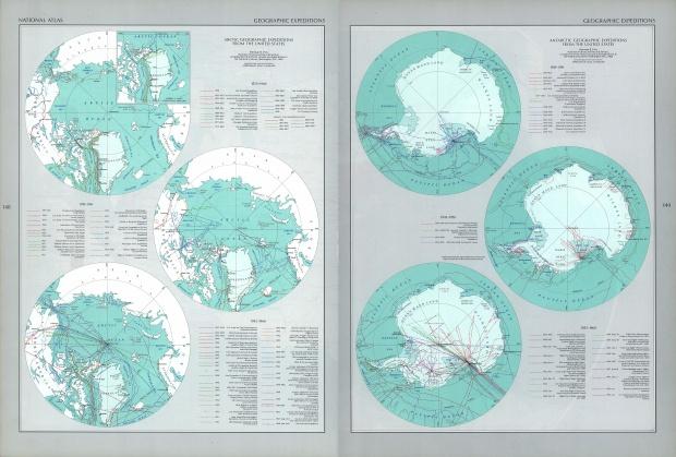 Expediciones Estadounidenses en la Antártida y el Ártico
