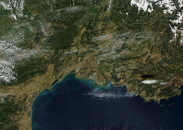 Francia meridional (antes de las inundaciones)