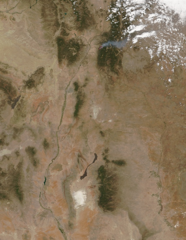 Fuego Borrego, Nuevo México