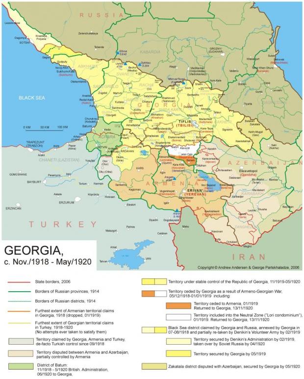 Georgia 1918-1920