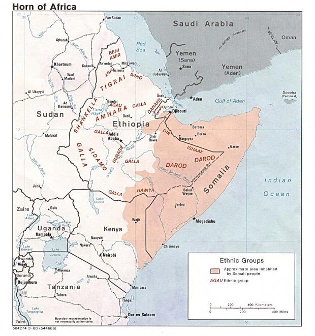 Grupos Étnicos del Cuerno de África