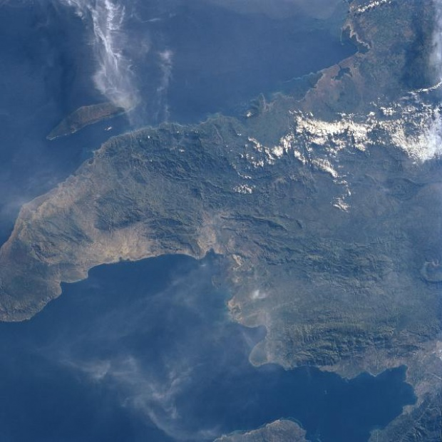 Imagen, Foto Satelite Golfo de Gonâve, Haiti