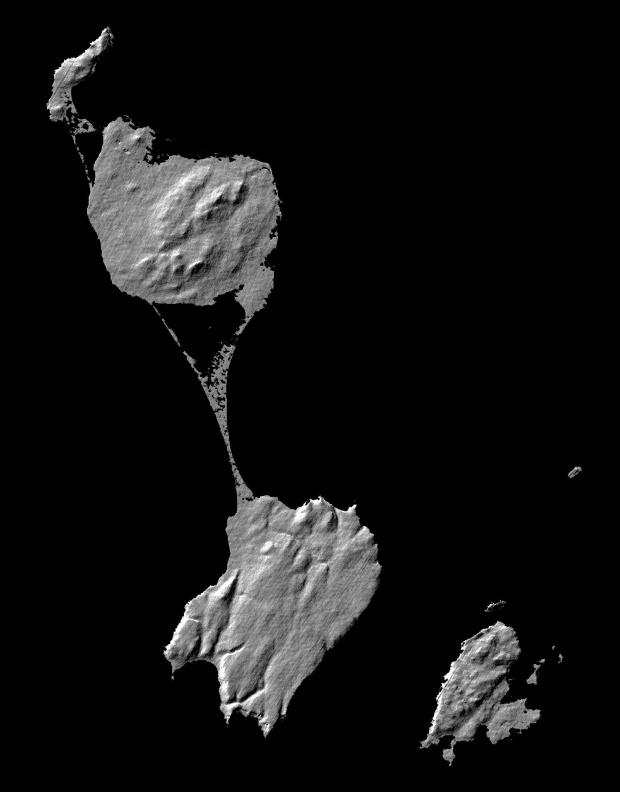 Imagen, Foto Satelite de San Pedro y Miquelon (Francia)