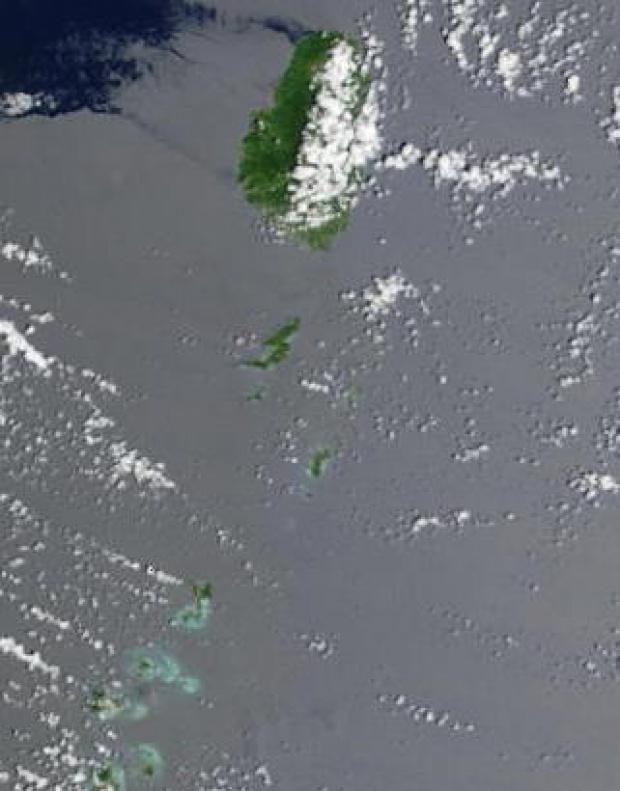Imagen, Foto Satelite de San Vicente y las Granadinas