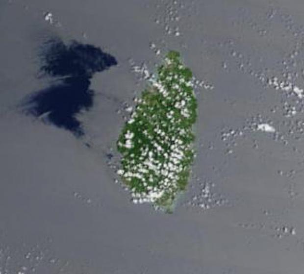 Imagen, Foto Satelite de Santa Lucia