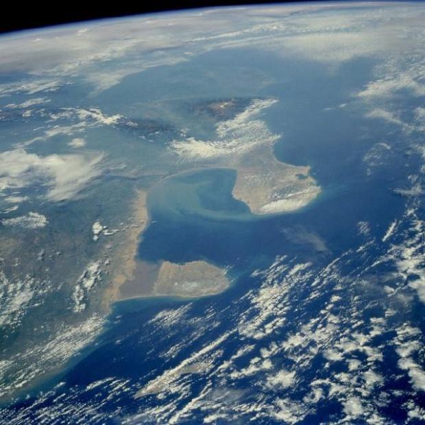 Imagen, Foto Satelite de la Region del Golfo de Venezuela