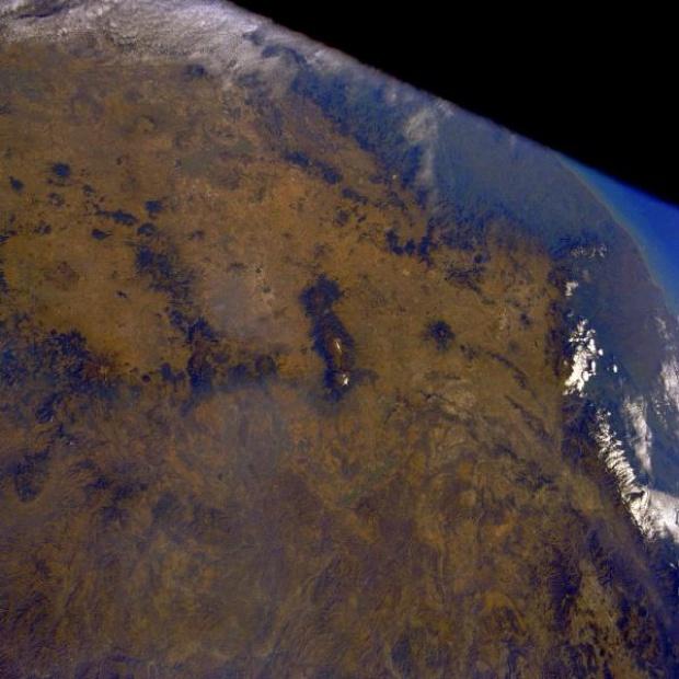 Imagen, Foto Satelite del Altiplano Mexicano, Mexico D.F.