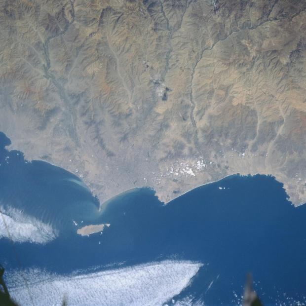 Imagen, Foto Satelite del Area de Lima, Callao, Peru