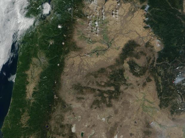 Incendio forestal en Idaho