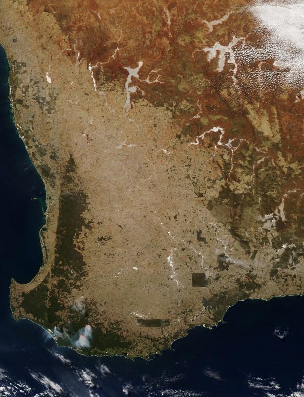 Incendios en Australia suroccidental