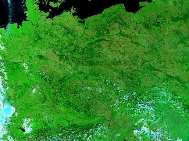 Inundaciones del río Elba en Alemania