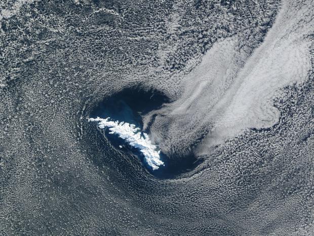Islas Georgias del Sur, Océano Atlántico sur