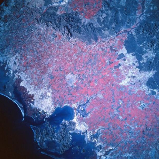 Mapa Satelital de Los Mochis, Sinaloa, Mexico