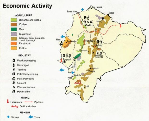 Mapas Tematicos De Ecuador