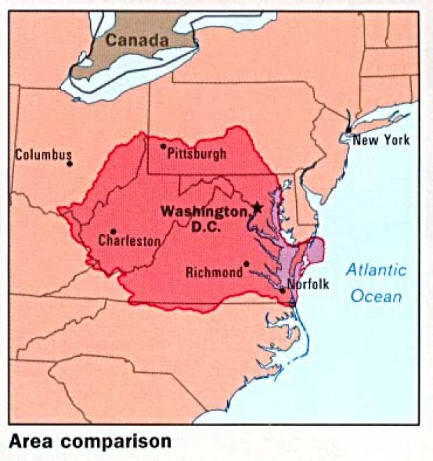 Mapa de Comparación de Área de Rumania