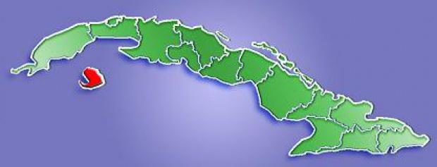 Mapa de Localización de la Isla de la Juventud, Cuba