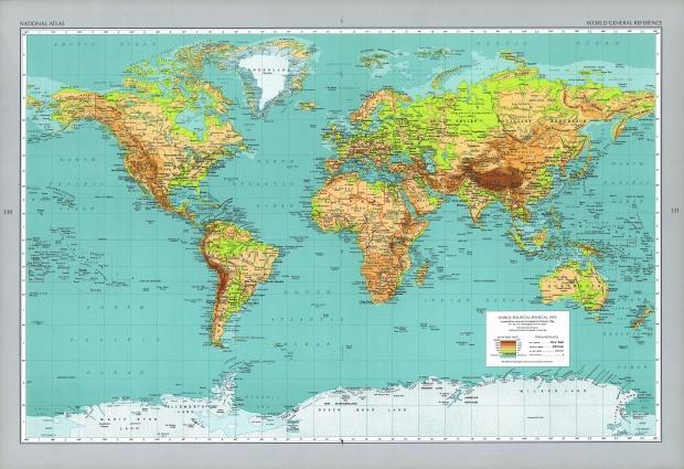 Mapa de Referencia General del Mundo