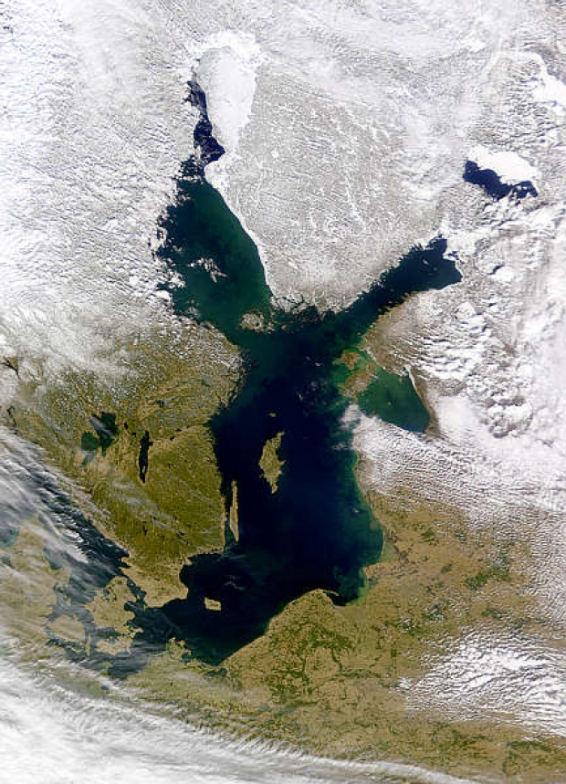 Mar Báltico Invierno 2000