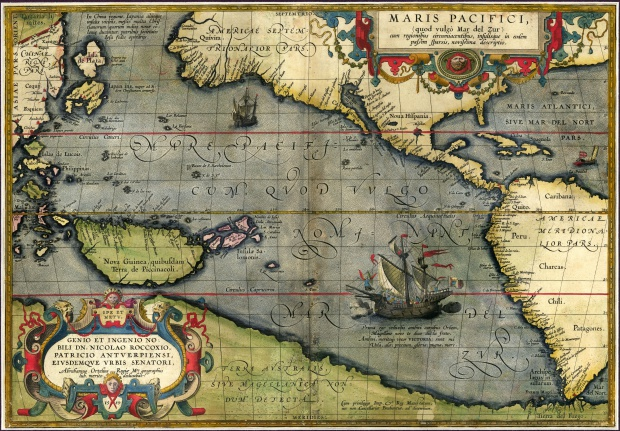 Maris Pacifici 1589