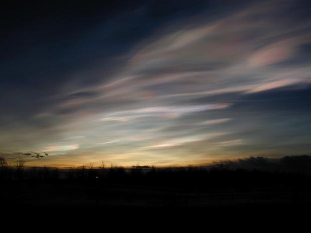 Nubes polares estratosféricas