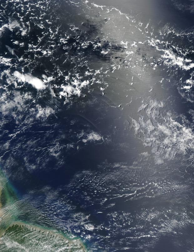 Olas internas en el Océano Atlántico, noreste de Brasil