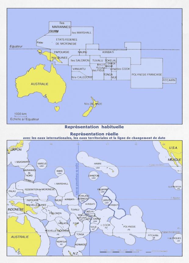 Países de Oceanía 2009