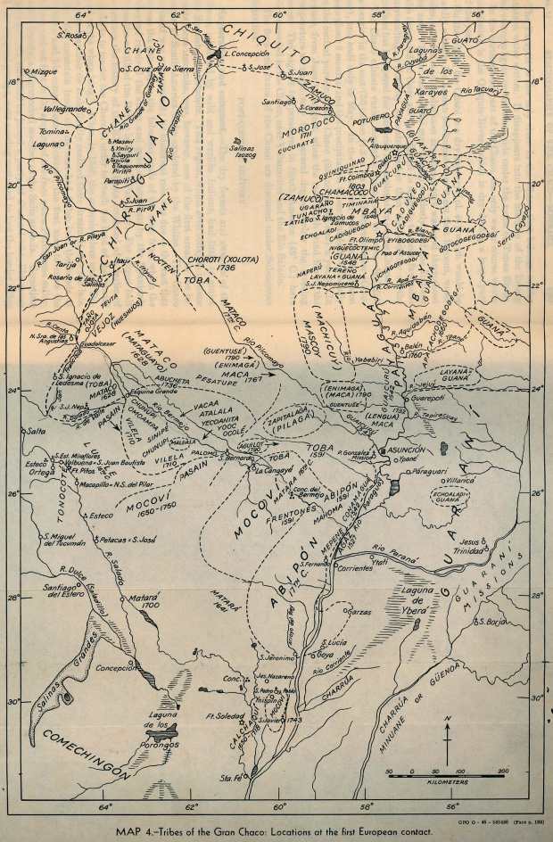 Primer Contacto de las Tribus Indígenas del Gran Chaco con los Europeos