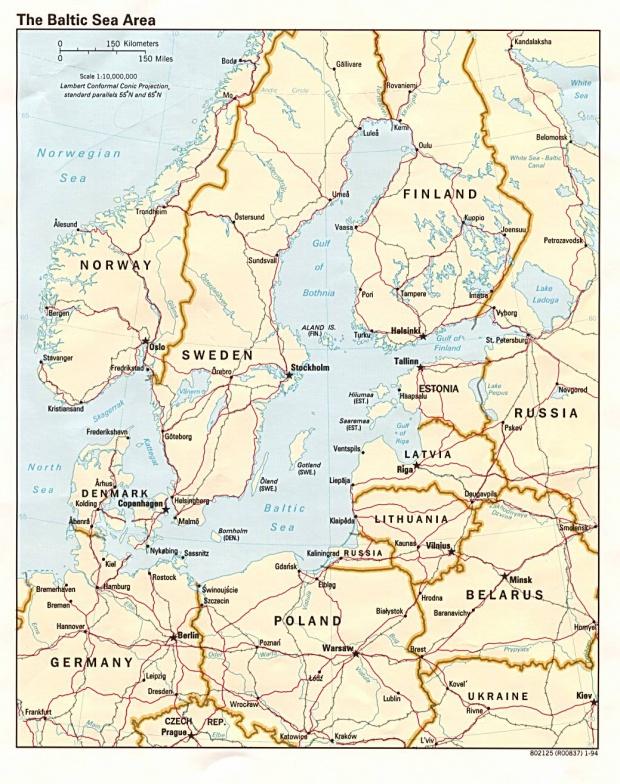 Región del Mar Báltico 1994