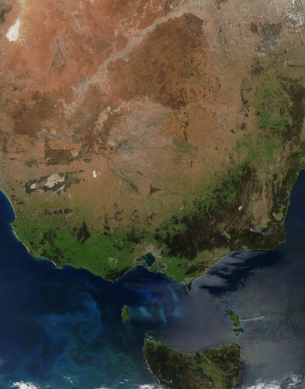 Sureste de Australia