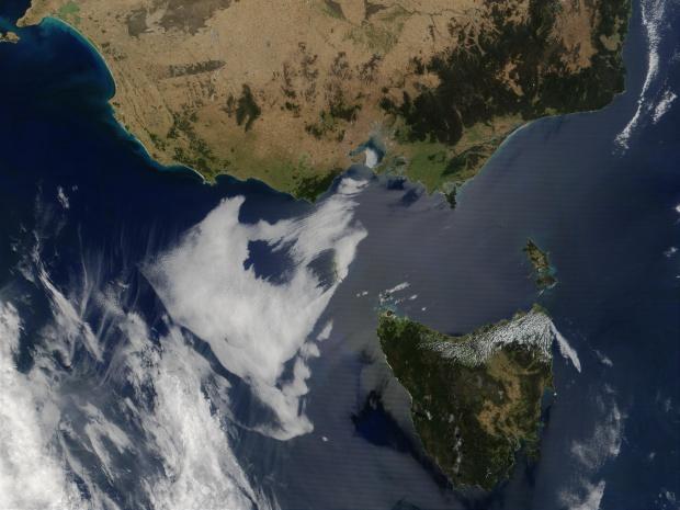 Tasmania y la costa sureste de Australia