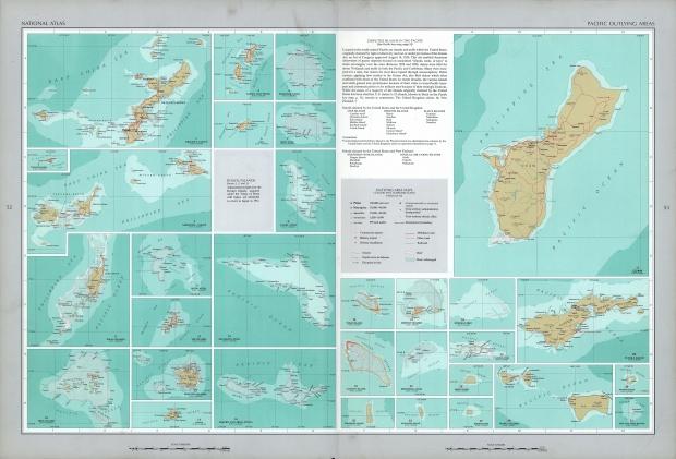 Áreas Periféricas del Océano Pacífico 1970